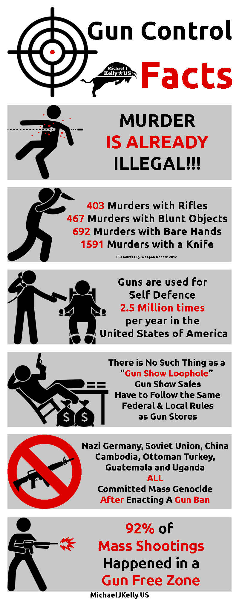 gun control facts infographic
